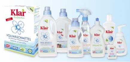 Art culos de limpieza ecol gicos de klar purenature - Productos de limpieza ecologicos ...